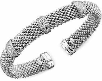 Macy's Diamond Bracelet in Sterling Silver (1/3 ct. t.w.)