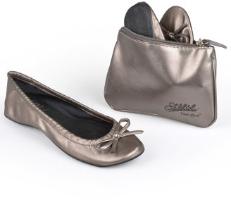Sidekicks Side Women's Foldable Ballet Flats $44.99 thestylecure.com