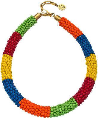 Ben-Amun Rainbow Bead Necklace