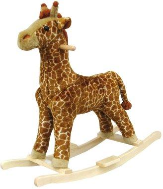 Happy Trails Plush Rocking Giraffe