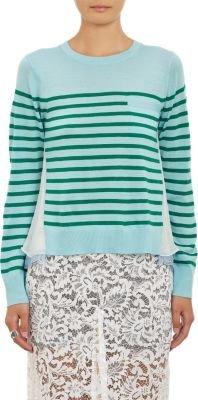 Sacai Luck Combo Stripe Pullover Sweater