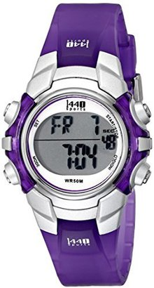 Timex Women's T5K459 1440 Sports Digital Purple Resin Watch $49.95 thestylecure.com