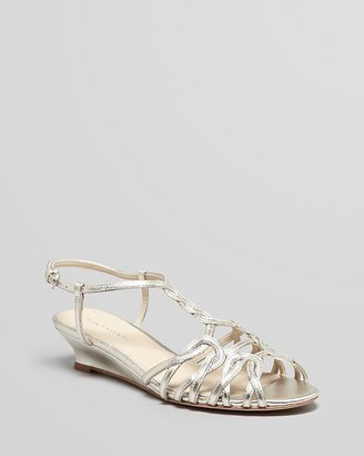 Elie Tahari Demiwedge Sandals - India