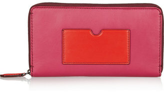 Reed Krakoff Color-block leather wallet