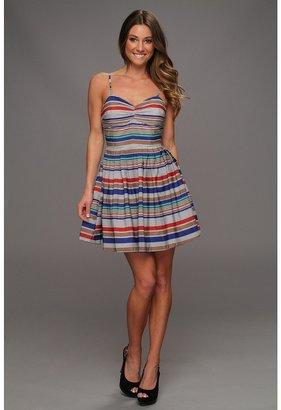 BB Dakota Bria Stripe Dress Women's Dress