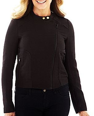 JCPenney Worthington® Moto Quilted Jacket