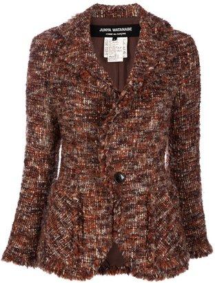 Comme des Garcons Vintage Raw edge jacket