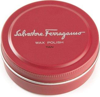Salvatore Ferragamo Tan Wax Polish