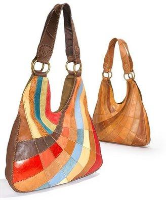 "Lucky Brand PatchWork"" Hobo Bag"