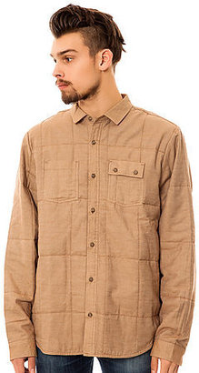 Comune The Arnold Buttondown Overshirt in Khaki
