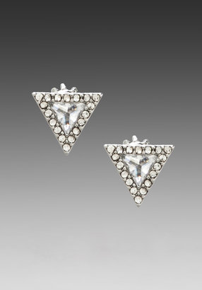 Juicy Couture Pave Triangle Stud