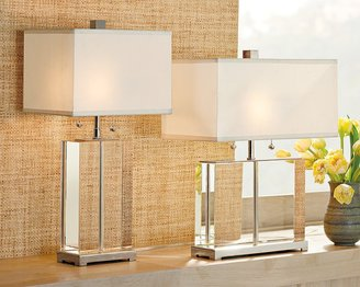 Williams-Sonoma Crystal Block Lamps