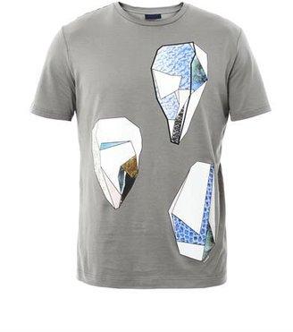 Lanvin Geometric-print T-shirt