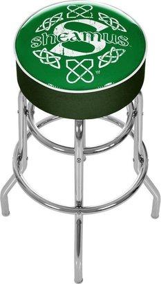 WWE Trademark Shemus Green Padded Swivel Bar Stool
