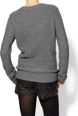 Juicy Couture Pim + Larkin Owl Lurex Sweater