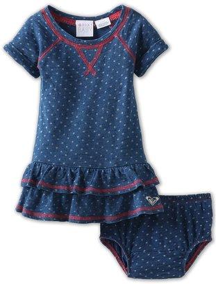 Roxy Kids - Fall Limit Dress (Infant) (Ensign Blue) - Apparel