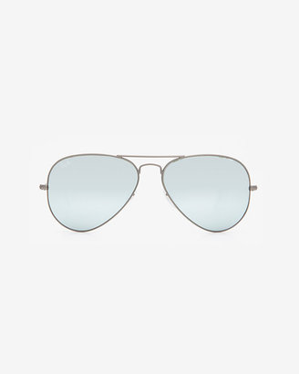 Ray-Ban Original Aviator Sunglasses: Silver