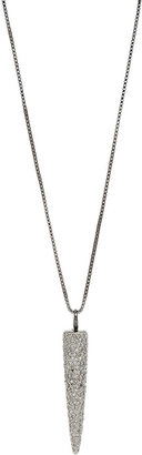 Ana Khouri Diamond Big Stud Pendant Necklace