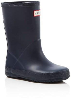 Hunter Unisex First Rain Boots - Walker, Toddler, Little Kid $55 thestylecure.com