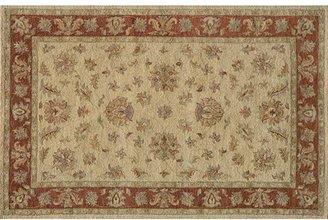 Taj Mahal Momeni floral border rug