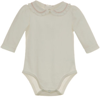 Hartstrings Newborn Girls 0-9 Months Long-Sleeved Bodysuit