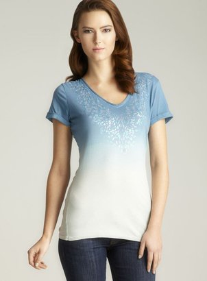 Calvin Klein Jeans Stained Glass Dip Dye tee