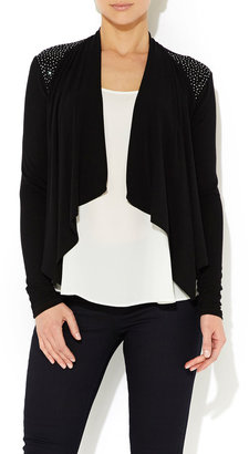 Wallis Black Embellished Shrug