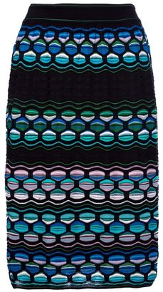 M Missoni patterned skirt