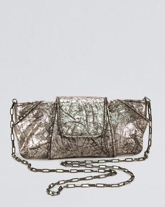 Kooba Metallic Lame Clutch Bag