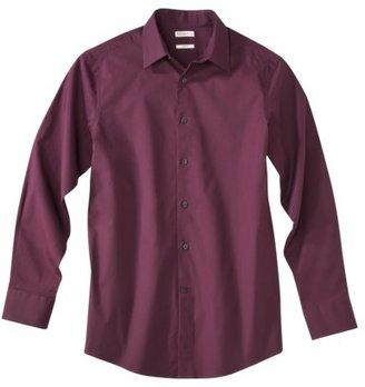Merona Men's Tailored Fit Stretch Poplin Shirt