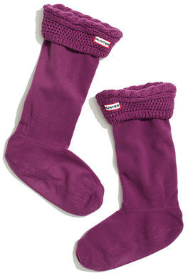 Madewell Hunter® cable wellie socks