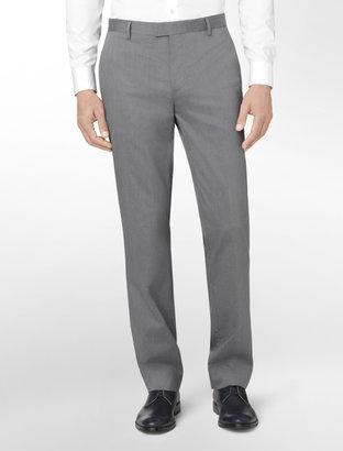 Calvin Klein Body Slim Fit Check Print Pants