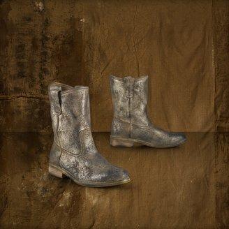 Denim & Supply Ralph Lauren Metallic Suede Boot