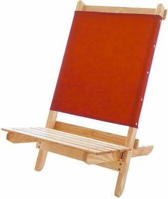 Blue Ridge Chair Works Caravan Folding Beach Chair Chair Works