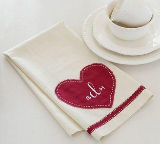 Pottery Barn Valentine's Kitchen Towel