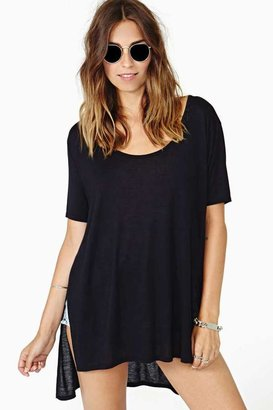 Nasty Gal Let's Split Tee