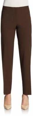 Lafayette 148 New York Stretch Wool Slim Leg Pants