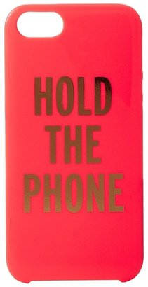 Kate Spade Kat Spad Nw York Hold Th Phon Rsin Phon Cas for iPhon 5 and 5s Cll Phon Cas