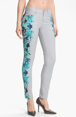 7 For All Mankind 'The Skinny' Placement Print Jeans