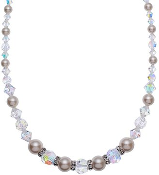 3995c27ce13a9 Swarovski Crystal Necklace With Pearls - ShopStyle