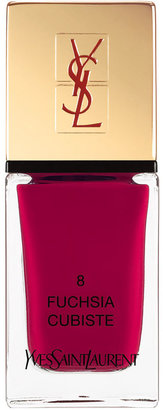 Saint Laurent La Laque No8 Fuchsia Cubiste