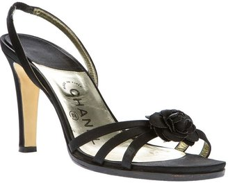 Chanel strappy sandal