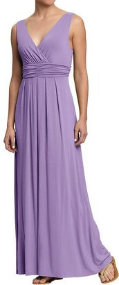 Old Navy Women's Cross-Front Jersey Maxi Dresses