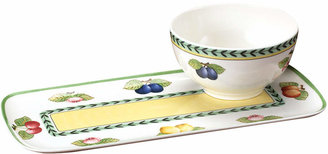 Villeroy & Boch French Garden Soup and Sandwich Set
