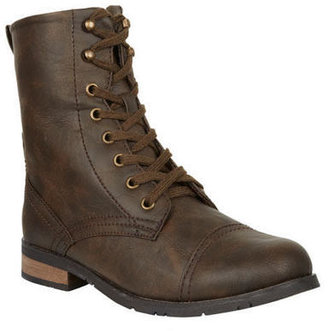Delia's Wanted Prague Lace-Up Boot