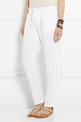 James Perse Linen straight-leg pants