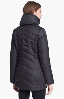 Marc New York 'Mulberry' Down & Feather Coat (Regular & Petite) (Online Only)