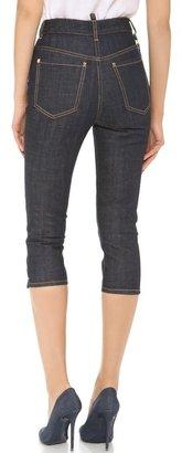 DSquared DSQUARED2 High Waist Capri Jeans