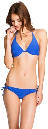 Aeropostale LLD Solid Push-Up Triangle Top