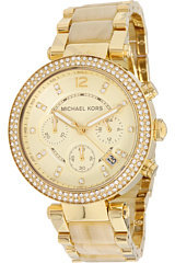 Michael Kors Michal Kor Collction MK5632 - Modrn Safari Parkr Chronograph Watch